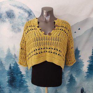 Free People Dreams Tonight Henley Sweater